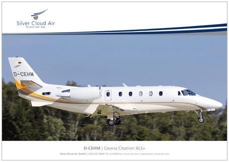 Factsheet D-CEHM-Cessna-Citation-XLS+