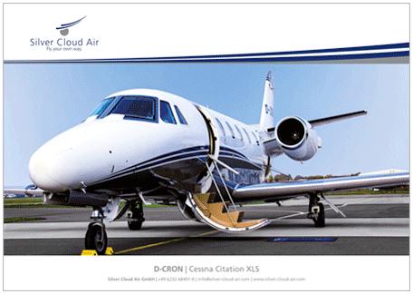 Factsheet D-CRON-Cessna-Citation-XLS