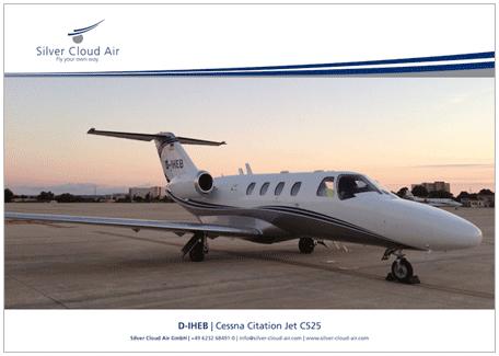 Factsheet D-IHEB-Cessna-Citation-Jet-C525