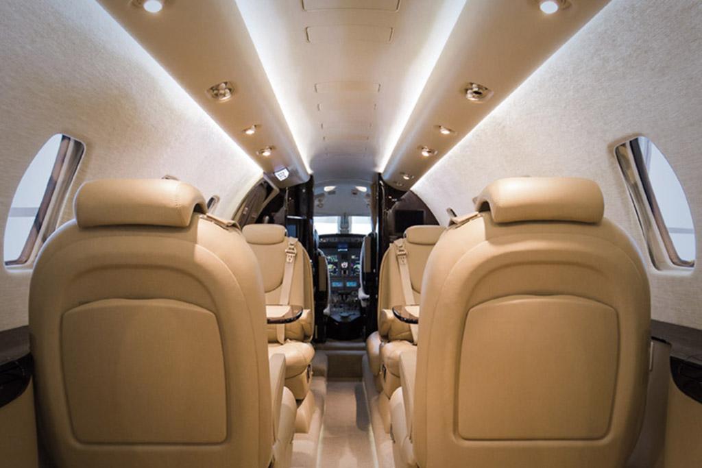 D-CEHM | Cessna Citation XLS+ Innenraum