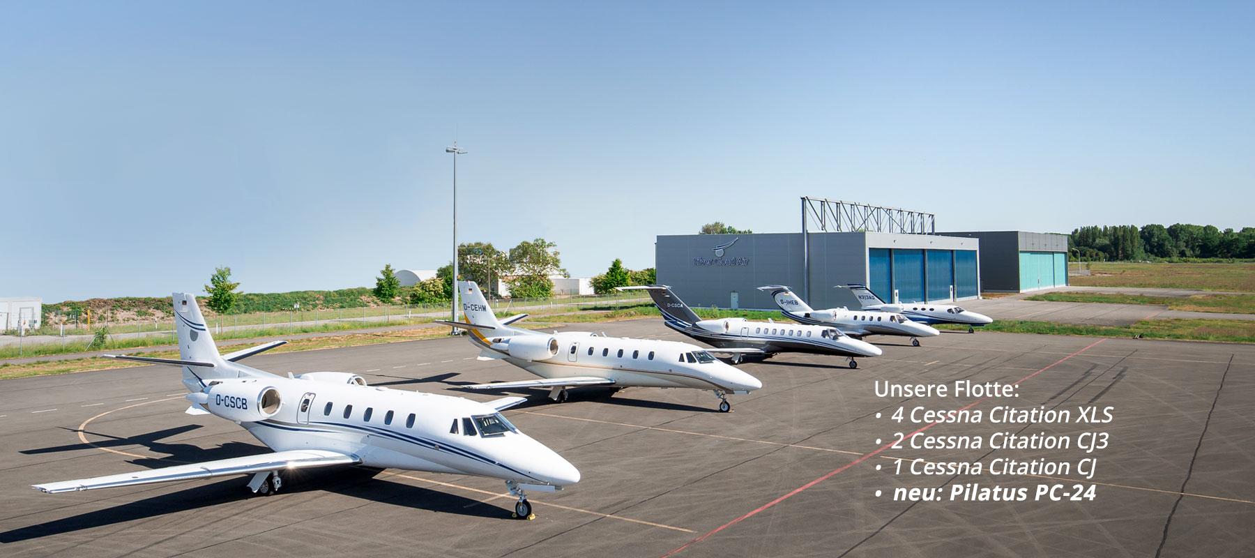 Silver Cloud Air - Flotte